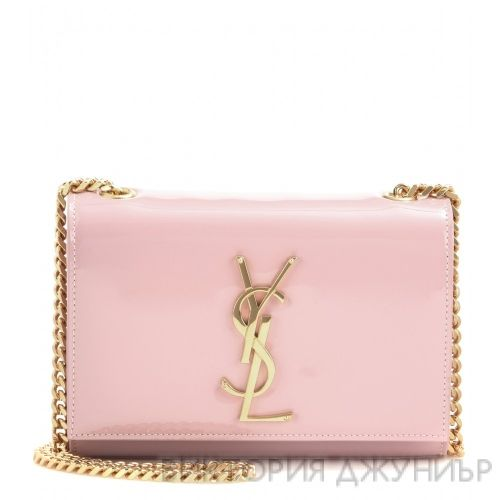 Classic Monogramme patent leather shoulder bag