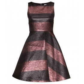 Foss metallic dress
